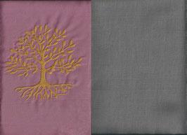 Lebensbaum Altrosa + Steingrau