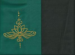 Lotusblüte Grün + Schokobraun