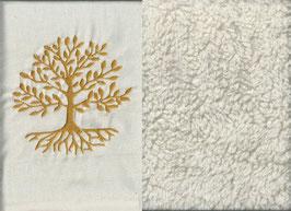 Lebensbaum Naturweiß + Baumwollplüsch