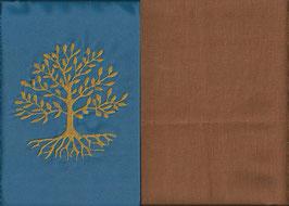 Lebensbaum Blau + Hellrost