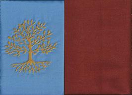 Lebensbaum Hellblau + Rostrot