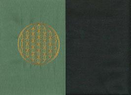 Blume des Lebens Mintgrün + Schokobraun