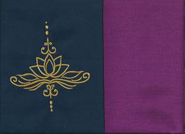 Lotusblüte Marine + Beere