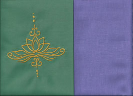 Lotusblüte Mintgrün + Flieder