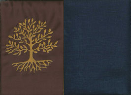 Lebensbaum Braun + Marine