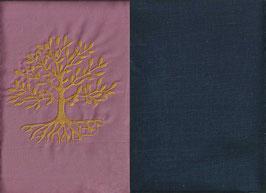 Lebensbaum Altrosa + Marine