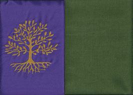 Lebensbaum Lila + Moosgrün