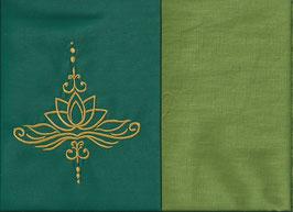 Lotusblüte Grün + Pistazie