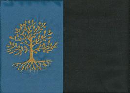 Lebensbaum Blau + Schokobraun