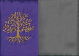 Lebensbaum Lila + Steingrau