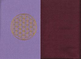 Blume des Lebens Flieder + Bordeaux