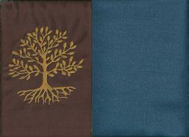 Lebensbaum Braun + Rauchblau
