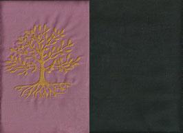Lebensbaum Altrosa + Schokobraun
