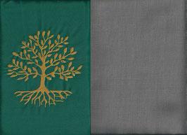 Lebensbaum Grün + Steingrau