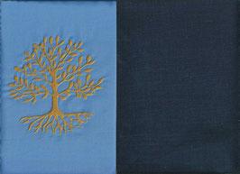Lebensbaum Hellblau + Marine