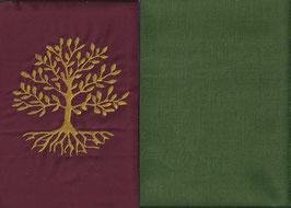 Lebensbaum Bordeaux + Moosgrün
