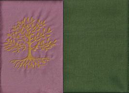 Lebensbaum Altrosa + Moosgrün