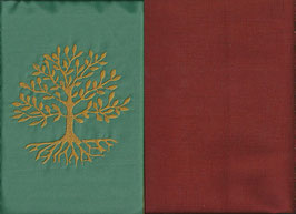 Lebensbaum Mintgrün + Rostrot