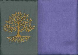 Lebensbaum Grau + Flieder