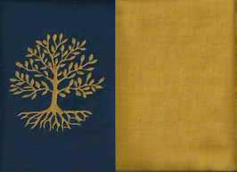 Lebensbaum Marine + Ockergelb