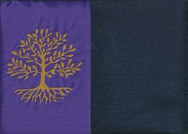 Lebensbaum Lila + Marine