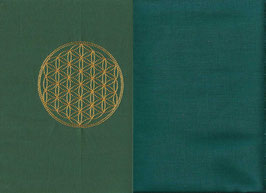 Blume des Lebens Grün + Petrol