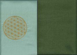 Blume des Lebens Hellmint+ Moosgrün