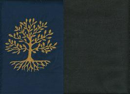 Lebensbaum Marine + Schokobraun