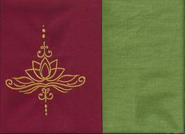 Lotusblüte Rot + Pistazie