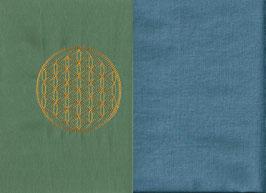 Blume des Lebens Mintgrün + Schwedenblau