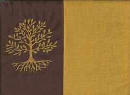 Lebensbaum Braun + Ockergelb