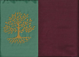 Lebensbaum Mintgrün + Bordeaux