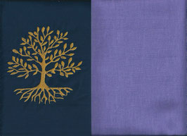 Lebensbaum Marine + Flieder