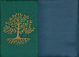 Lebensbaum Grün + Rauchblau
