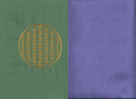 Blume des Lebens Mintgrün + Flieder