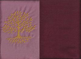Lebensbaum Altrosa + Bordeaux