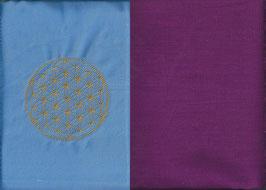 Blume des Lebens Hellblau+ Beere