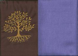 Lebensbaum Braun + Flieder
