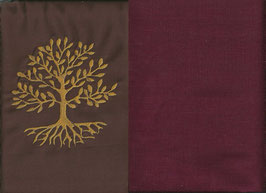 Lebensbaum Braun + Bordeaux
