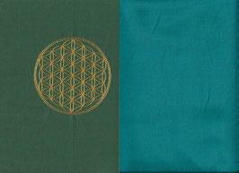 Blume des Lebens Grün + Smaragt