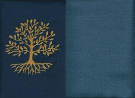 Lebensbaum Marine + Rauchblau