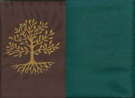 Lebensbaum Braun + Petrol