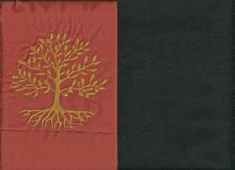 Lebensbaum Orange + Schokobraun