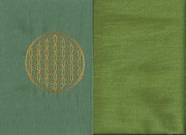 Blume des Lebens Mintgrün + Pistazie