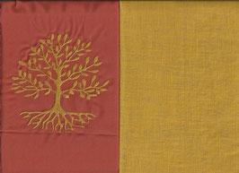 Lebensbaum Orange + Ockergelb