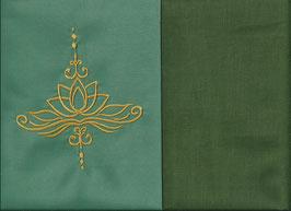 Lotusblüte Mintgrün + Moosgrün