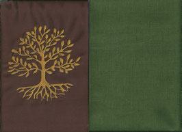 Lebensbaum Braun + Moosgrün