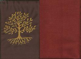 Lebensbaum Braun + Rostrot