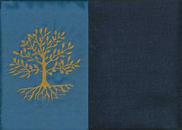 Lebensbaum Blau + Marine