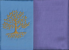 Lebensbaum Hellblau + Flieder